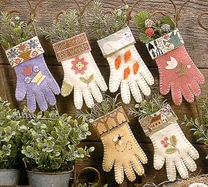 Prairie Schooler - Garden Gloves