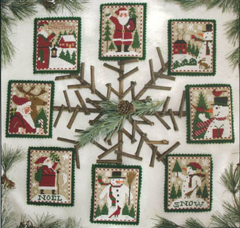 Prairie Schooler - Santas & Snowmen