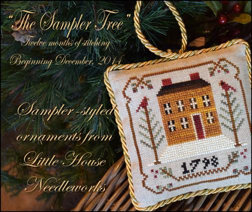 Little House Needleworks - The Sampler Tree - Old Colonial - Part 1 of 12 - Cross Stitch Pattern