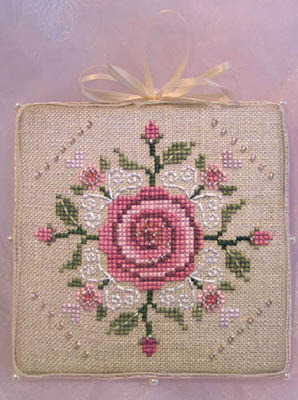 Brooke's Books - The Brides Tree Heirloom Ornament Collection 008 of 12 FAITHFULNESS - Cross Stitch Pattern