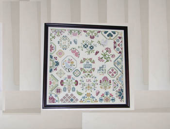 AuryTM - A Sampler For My Mother - Cross Stitch Pattern