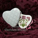 Cherished Stitches - Miniature Sweetheart Needlebook with Tin Heart Etui Limited Edition Kit