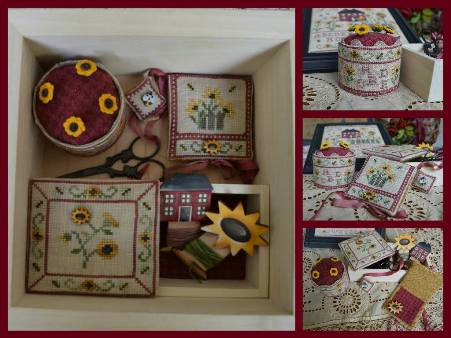 Sunflower's Cottage Sewing Box