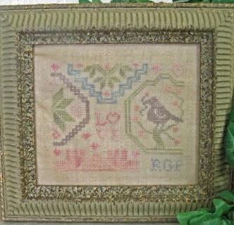 From The Heart Needleart by Wendy - Love Mini Quaker
