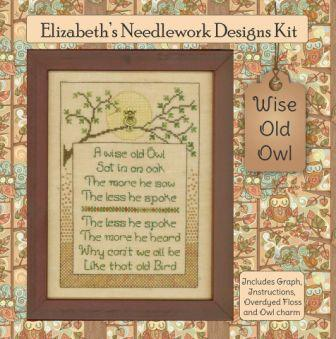 Elizabeth's Designs - Wise Old Owl