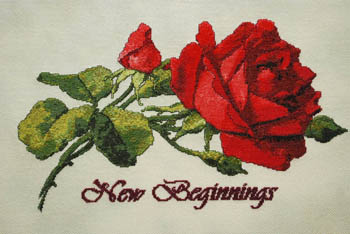The Silver Lining - New Beginnings - Cross Stitch Pattern