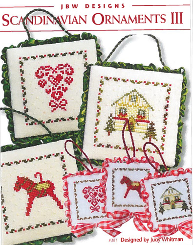 JBW Designs - Scandinavian Ornaments III - Cross Stitch Patterns
