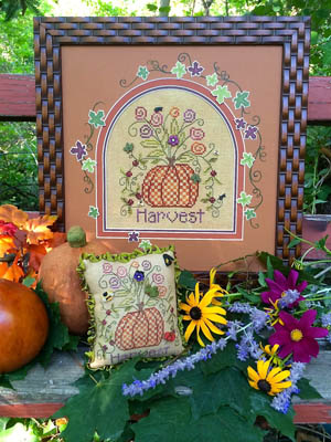 Shepherd's Bush - Pumpkin Harvest - Cross Stitch Pattern