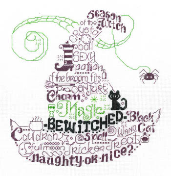 Imaginating - Let's Be Wicked - Cross Stitch Pattern