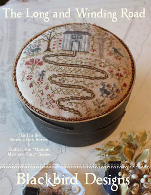 Blackbird Designs - Sewing Box Series - Long And Winding Road - Cross Stitch Pattern