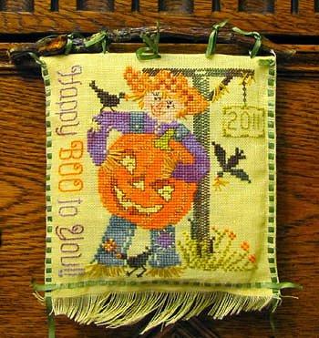Tempting Tangles - Scarecrow Sam's Jack-o'-Lantern