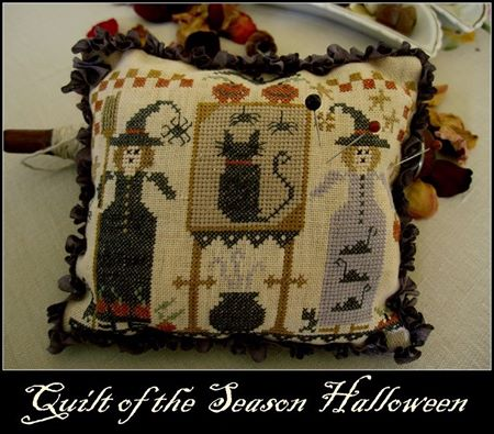 Nikyscreations - Quilt of the Season - Halloween