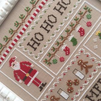 Country Cottage Needleworks - Santa's Sampler