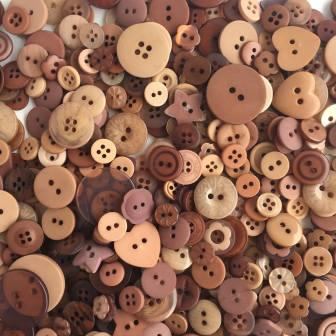 Just Another Button Company - Button Lovers - Hazelnut