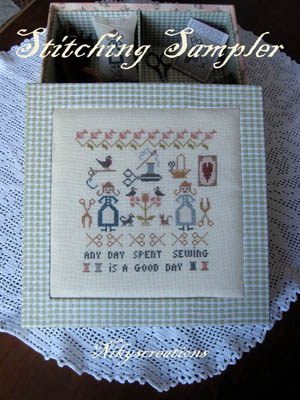 Nikyscreations - Stitching Sampler