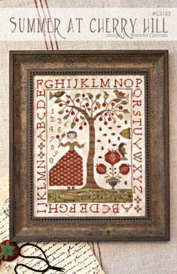 With Thy Needle & Thread - Summer at Cherry Hill - Cross Stitch Pattern