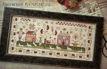 With Thy Needle & Thread - Shepherd's Sampler