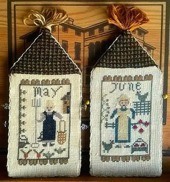 Nikyscreations - Amish Girls-May/June