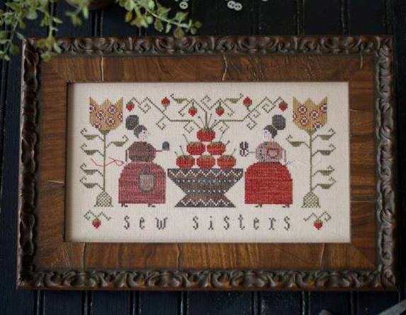 Plum Street Samplers - Sew Sisters-Plum Street Samplers, Sew Sisters,sewing, stitching, cross stitch, primitive,