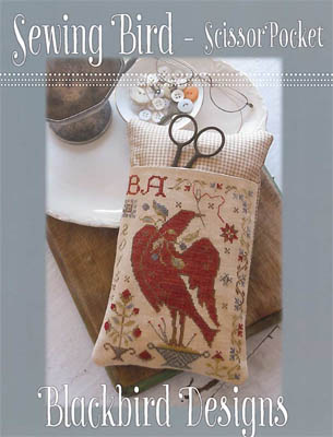 Blackbird Designs - Sewing Bird - Scissor Pocket