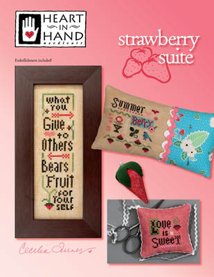 Heart in Hand Needleart - Strawberry Suite