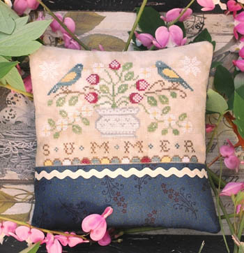 Lila's Studio - Seasons - Summer-Lilas Studio - Seasons - Summer, flowers, birds, cross stitch