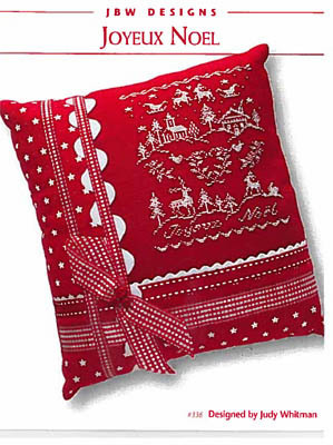 JBW Designs - Joyeux Noel-JBW Designs - Joyeux Noel, Christmas, ornament, cross stitch,