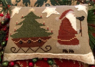 Homespun Elegance - Merry Noel Collection - Santa's On His Way-Homespun Elegance - Merry Noel Collection - Santas On His Way