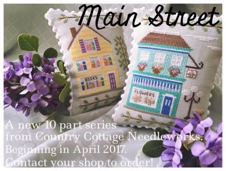 Country Cottage Needleworks - Main Street - Part 1 Flower Shop