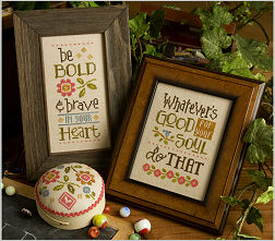 Lizzie Kate - Be Bold and Brave-Lizzie Kate, Be Bold and Brave, encouraging words, prayers, uplifting, cross stitch