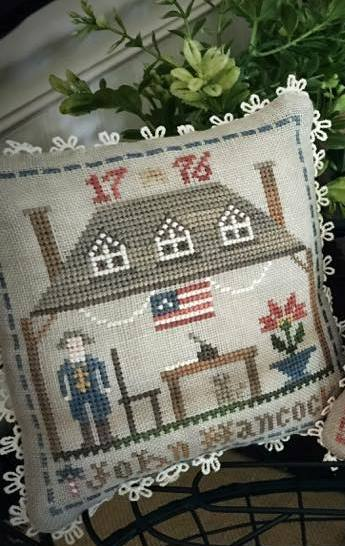 Little House Needleworks - The Early Americans - Part 2 - John Hancock