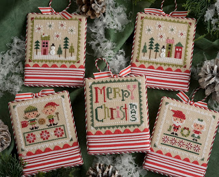 Lizzie Kate - Tiny Tidings XXII-Lizzie Kate - Tiny Tidings XXII, Christmas, ornaments, cross stitch