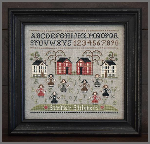 Little House Needleworks - Sampler Stitchers-Little House Needleworks - Sampler Stitchers, cross stitch, stitching group, sal, ladies,