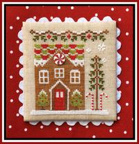 Country Cottage Needleworks - Gingerbread Village - Part 03 - Gingerbread House 1
