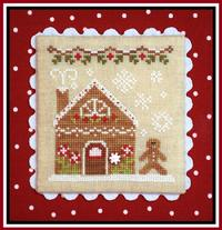 Country Cottage Needleworks - Gingerbread Village - Part 04 - Gingerbread House 2