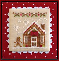 Country Cottage Needleworks - Gingerbread Village - Part 05 - Gingerbread House 3