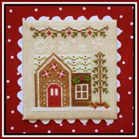 Country Cottage Needleworks - Gingerbread Village - Part 09 - Gingerbread House 6
