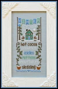 Country Cottage Needleworks - Seasonal Celebrations - Part 4 - Winter