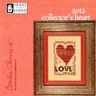 Heart in Hand Needleart - 2012 Collector's Heart - Cross Stitch Kit