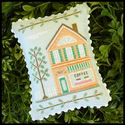 Country Cottage Needleworks - Main Street - Part 4 - Coffee Shop
