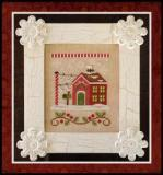 Country Cottage Needleworks - Santa's Village - Part 03 of 12 - North Pole Post Office - Cross Stitch Pattern