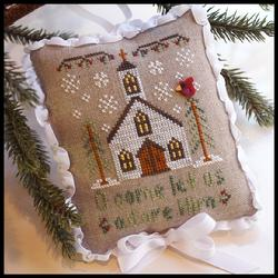 Country Cottage Needleworks - Classic Collection - 6 of 12 - Let Us Adore Him - Cross Stitch Pattern