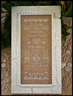 Country Cottage Needleworks - Simply Vintage - Cross Stitch Pattern