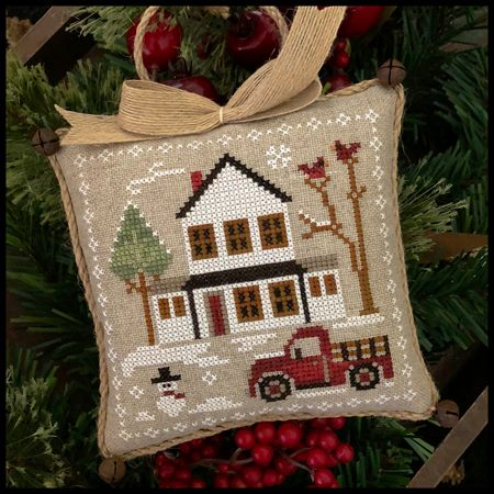 Little House Needleworks - Farmhouse Christmas - Part 3 - Grandpa's Pick-up-Little House Needleworks - Farmhouse Christmas - Part 3 - Grandpas Pick-up