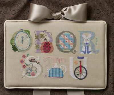 Cross-Eyed Cricket - Letters - Part 3 - Cross Stitch Pattern