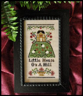 Little House Needleworks - Hill House - Cross Stitch Chart-Little House Needleworks - Hill House - Cross Stitch Chart
