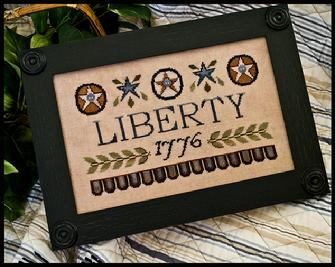 Little House Needleworks - Liberty 1776 - Cross Stitch Pattern
