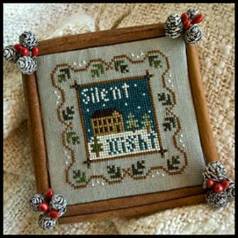 Little House Needleworks - Ornament of the Month 2011 - Silent Night - Cross Stitch Pattern