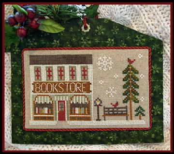 Little House Needleworks - Hometown Holiday - Part 13 - The Bookstore