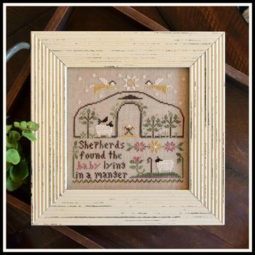 Little House Needleworks - These Are My Sheep - Part 1 - Born in a Manger-Little House Needleworks - These Are My Sheep - Born in a Manger, Jesus, Christmas, Joseph  Mary, Birth of Christ, Cross Stitch